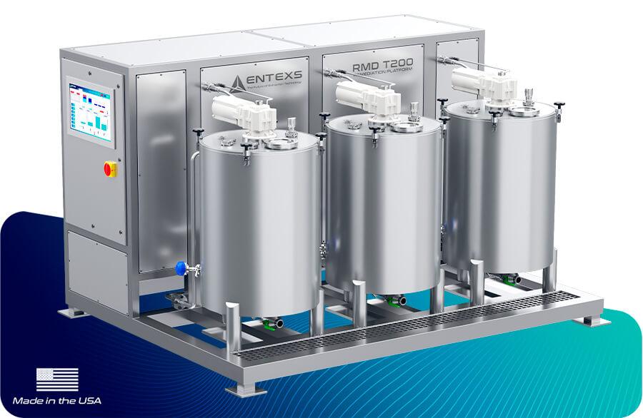 ENTEXS - RMD T200: THC Free, THC Remediation, chromatography, Non detection